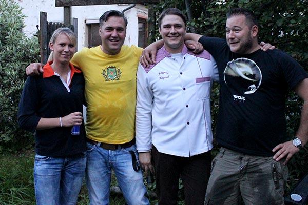 Posing - Gewinner des Ansbacher Bratwurst Contests
